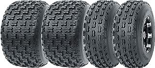 Set of 4 WANDA Sport ATV Tires AT 19x7-8 Front & 22x10-10 Rear