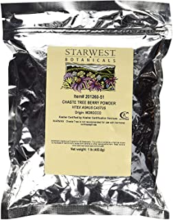 Starwest Botanicals Chaste Tree Berry Powder 1 Lb