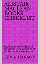Alistair Maclean Books Checklist: Reading Order of Guns of Navarone Series and List of All Alistair Maclean Books