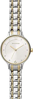 Skagen Women's Anita Quartz Two-Tone Stainless Steel Casual Watch, Color: Silver and Gold-Tone (Model: SKW2321)