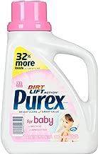 Purex Baby Liquid Laundry Detergent, 50 oz,33 loads, (Pack of 2)