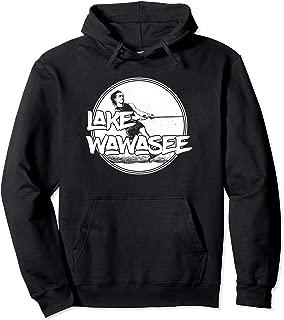 Lake Wawasee Syracuse Indiana Water Ski Hoodie