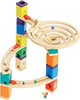 Hape E6005 The Roundabout Wooden Marble Run Construction