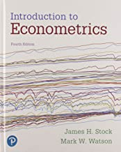 Introduction to Econometrics Plus MyLab Economics with Pearson eText -- Access Card Package (4th Edition) (Pearson Series in Economics)