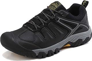 أحذية مشي للرجال من AX BOXING مانعة للانزلاق وتسلق الجبال والرحلات أحذية رياضية للمشي في الهواء الطلق