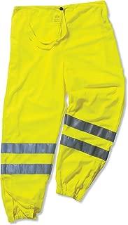 Ergodyne GloWear 8910 ANSI High Visibilty Lime Reflective Safety Pants, 2XL/3XL
