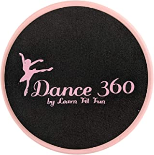 LearnFitFun Budget Ballet Turn and Spin Turning Board for Dancers. Sturdy Dance Board for Ballet, Figure Skating, and Balance. Turn Faster, Balance Better, Perfect Your Spin with Dance 360