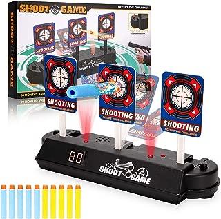 Anguslvy Electric Scoring Auto Reset Shooting Digital Target for Nerf Guns Blaster
