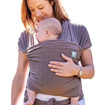 Baby Sling Wrap - Newborn to Toddler Carrier - Naturally Soft - The Pocket Wrap™ (Earth)
