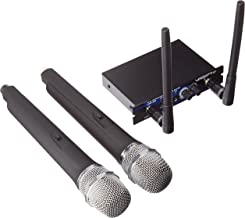 VocoPro Dual Channel UHF Wireless Mic System (UHF-28-9)