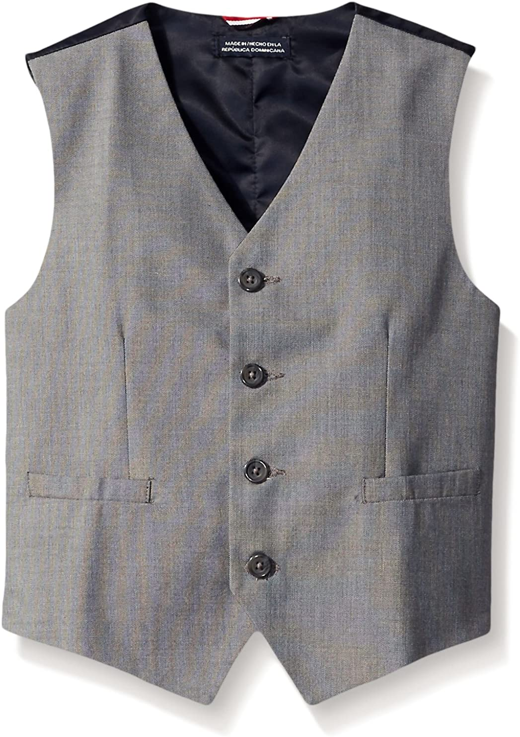 Tommy Limited time for free Ranking TOP11 shipping Hilfiger Boys' Vest Suit Sharkskin