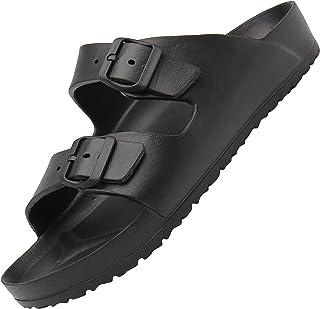 SAGUARO Sandales Homme Femme Antidérapantes Pantoufles Décontractées Chaussons de Bains Accueil Slippers