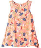 Roxy Kids - Everyone on a Run Printed Dress (Toddler/Little Kids/Big Kids)
