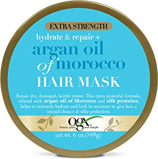 OGX Extra Strength Hydrate & Repair + Argan Oil of Morocco Hair Mask, 6 Ounce