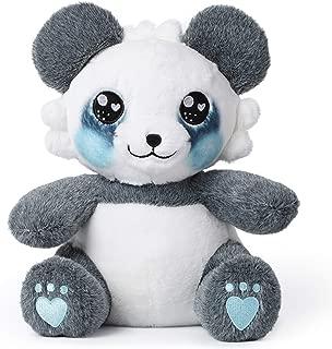 corimori 1849 - Stuffed Toy Cuddly Plush Animal for Babies, Toddlers, 26cm, Mei The Panda, Blue, White, Grey