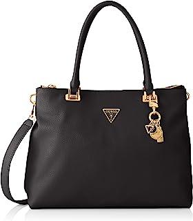 Guess Women's Destiny Society Carryall Handbag, Black, Einheitsgröße