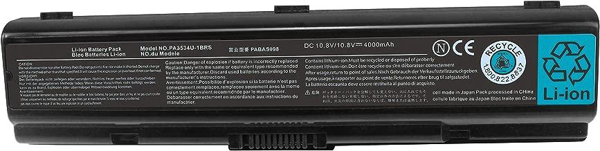 New PA3534U-1BRS PA3727U-1BRS PA3533U-1BRS Laptop Battery Compatible with Toshiba Satellite L200 L300D L305 L455 L450D L500 L505 A505 A200 A205 A210 A215 A300 A305 A355D L305 M200 Pro A200