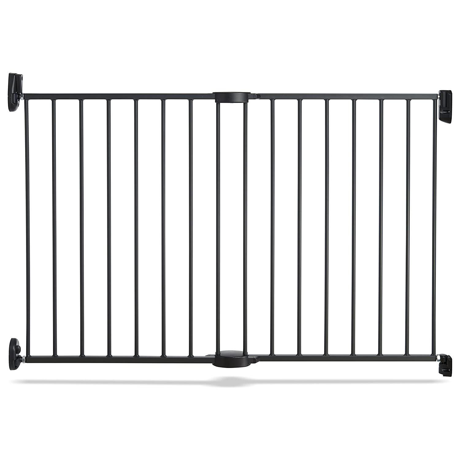 Munchkin Push to Close Baby Gate, Hardware Mounted Safety Gate for Stairs, Hallways and Doors, Extends 28.5