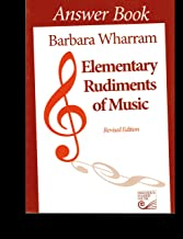 Elementary Rudiments of Music Answer Book, Revised Edition