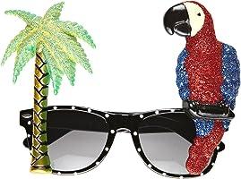 Widmann Gonflable Parrot 0349q Lunettes de style, tropical, Taille unique