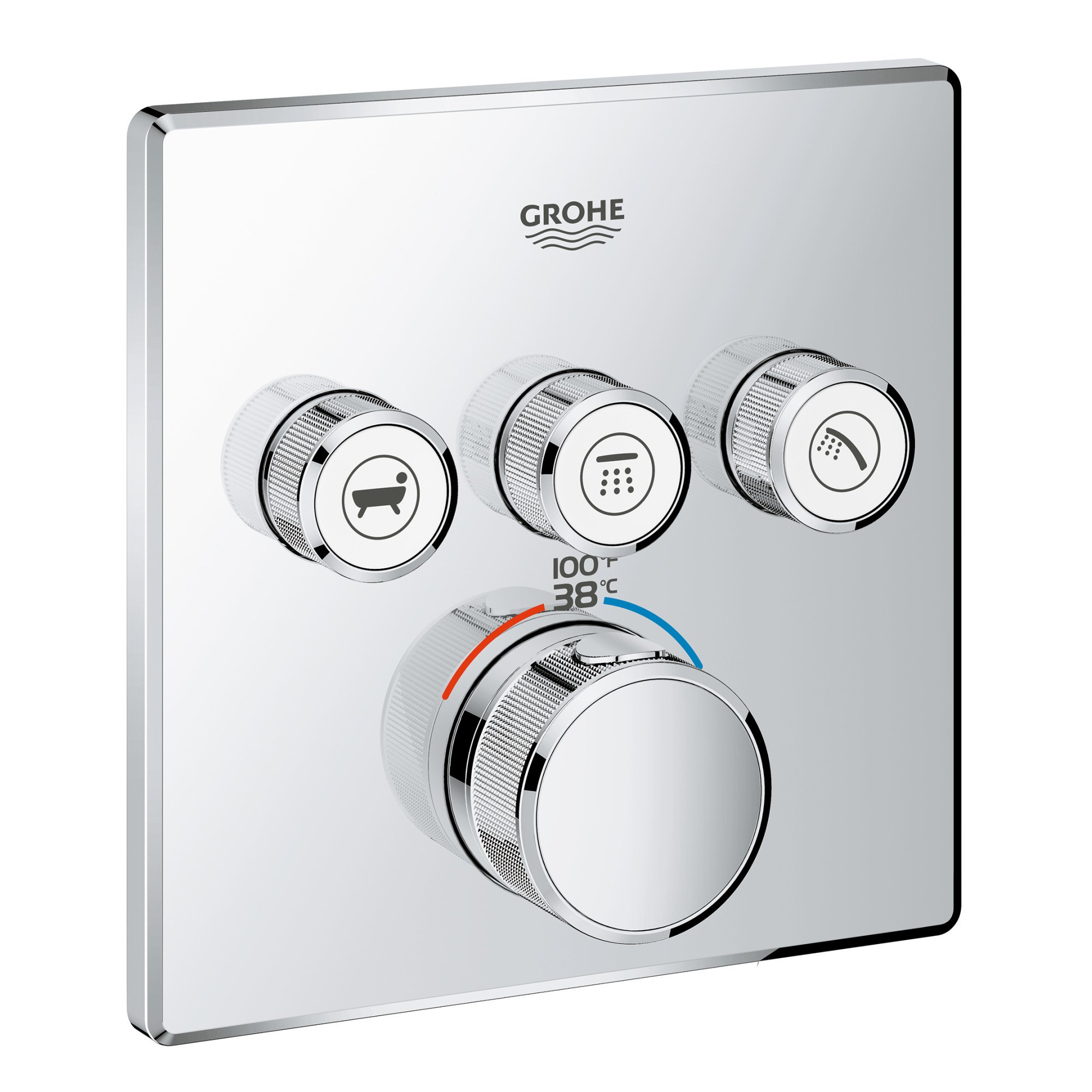 GROHE 29142000 Grohtherm Thermostatic Starlight