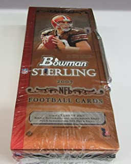 2007 bowman sterling football
