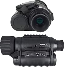 Bestguarder WG-50 6x50mm Digital Night Vision Infrared IR Monocular with Camera & Camcorder Function Takes 30mp Photo & 720p Video from 1300ft Distance for Night Hunting or Viewing