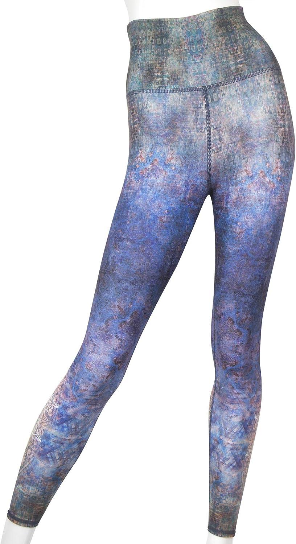 EVCR Mgoldccan Buddha HIGHWaisted Soft Non SeeThrough Everyday Yoga Leggings