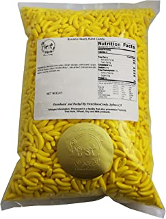 FirstChoiceCandy Yellow Silly Banana Heads Hard Runts Candy Bulk 5 Pounds
