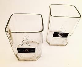 Johnnie Walker Black Label Whisky bottle Rocks Tumblers/Glasses (SET OF 4)