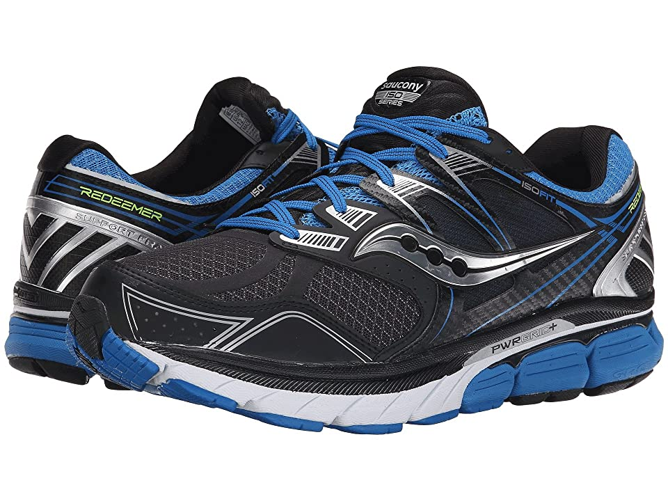 Saucony Redeemer (Black/Blue) Men