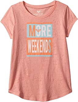 Roxy Kids More Weekends Fashion Crew Top (Big Kids)