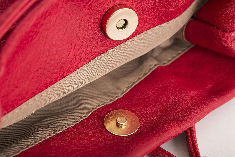 Mabel London Womens Fashion Designer Medium Size Plain Soft Vegan Leather Hobo Bucket Tote Shoulder Bag Delilah