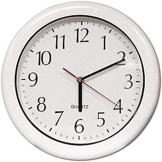 Poolmaster 52600 12-Inch Indoor or Outdoor Clock, White