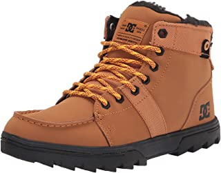 mens Cold Weather Casual Snow Boot, Wheat, 10.5 US