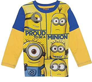 Toddler Boys' Long Sleeve Tee Shirt Proud to be a Minion