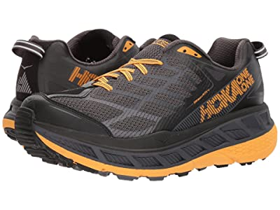 Hoka One One Stinson ATR 4 (Black/Kumquat) Men