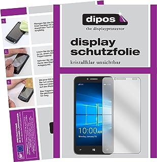 dipos I 2x skärmskydd kompatibel med Alcatel Idol 4 Pro skyddsfilm klar
