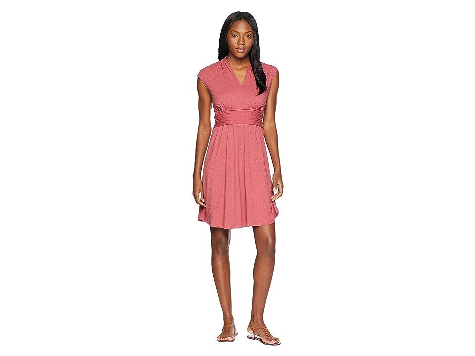Prana Berry Dress (Crushed Cran) Women