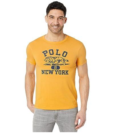 Polo Ralph Lauren Slim Fit Graphic T-Shirt (Gold Bugle) Men