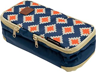 Well Traveled Toiletry Bag & Bathroom Organizer - A Compact Men's Travel Bag or Women's Cosmetic Bag