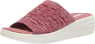 Ryka Women's Nanette Slide Sandal, Tea Rose, 8.5 M US