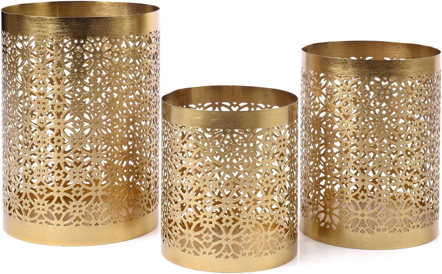 IMPULSE Moroccan Gold Votive Cheap mail order Manufacturer direct delivery shopping Candle Holders Se