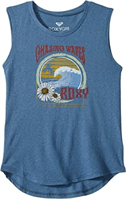 Chase Wave Muscle Tee (Big Kids)