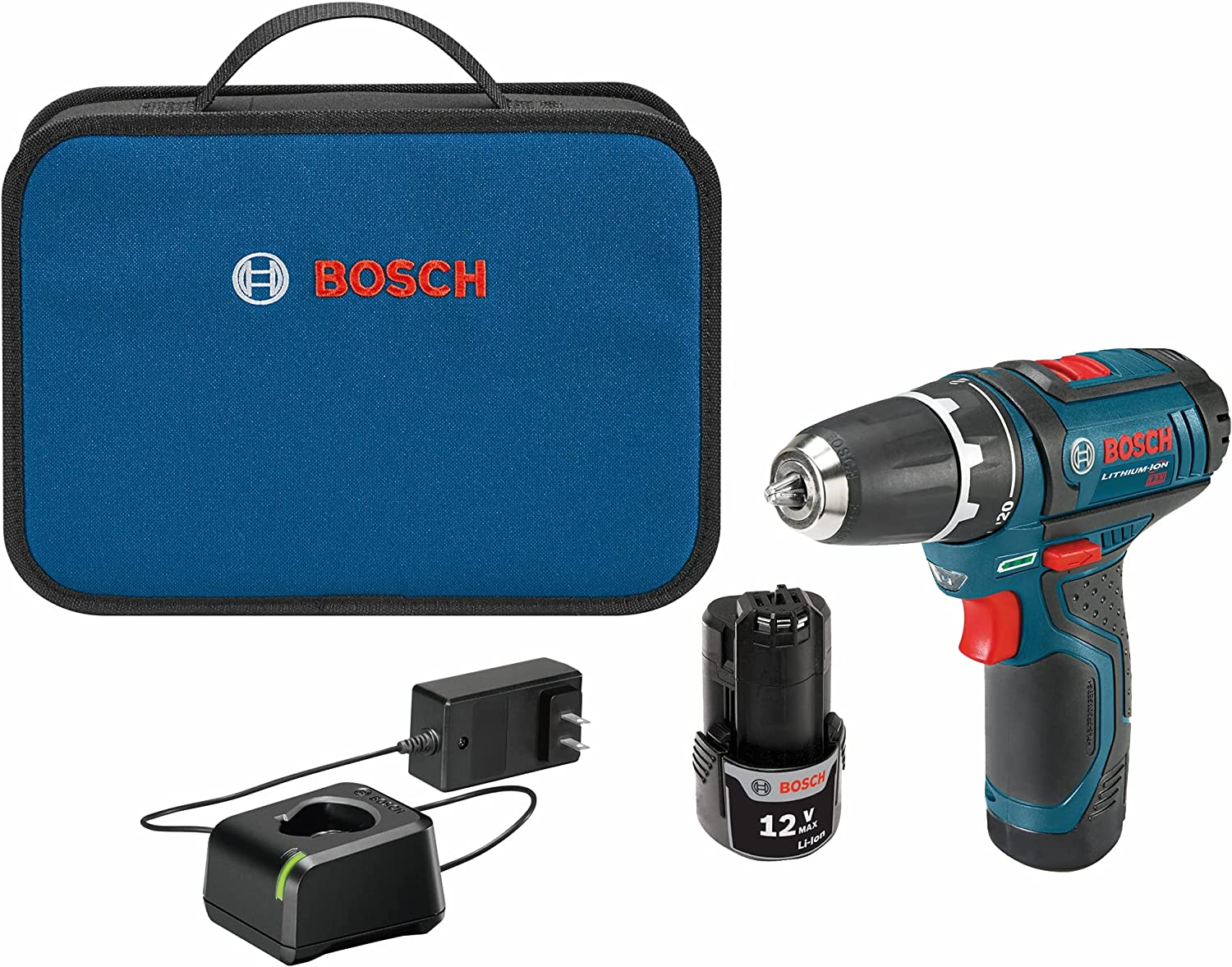 Bosch PS31-2A 3/8 Inch Cordless Drill Set for Ladies
