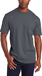 Dickie's Men's Heavyweight Crew Neck Short Sleeve Tee...
