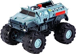 Jurassic World Matchbox Vehículo, Camión Armado de Acción