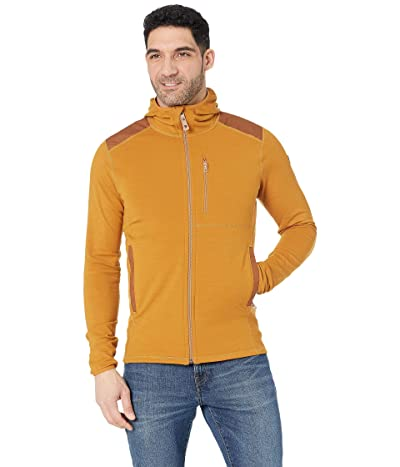 Fjallraven Keb Fleece Hoodie (Acorn/Chestnut) Men