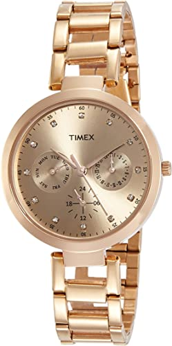 Analog Brown Dial Women s Watch TW000X209