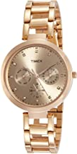 Timex Analog Brown Dial Women's Watch - TW000X209